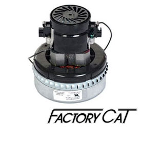 Factory Cat - Vacuum & Brush Motors