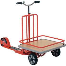 Vestil Industrial Scooter with Cargo Platform