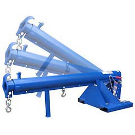 Vestil Adjustable Pivoting Forklift Jib Boom Cranes