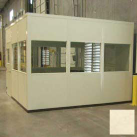PortaFab Modular Inplant Offices - Steel Panel Class A Fire & Sound Rated (Steel Frame)