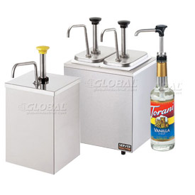 Condiment Pumps & Dispensers