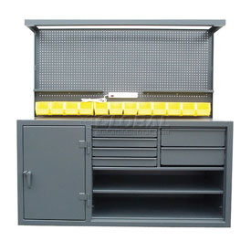 Cabinet Workstations With Riser