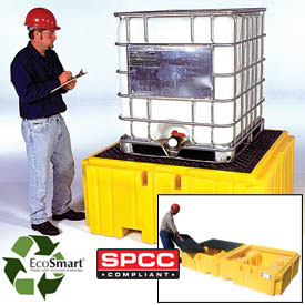 Ultra-IBC Spill Pallet Plus® & Ultra-Twin IBC Spill Pallets®