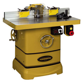 "Powermatic 1280101C Model PM2700 5HP 1-Phase 230V Shaper W 30"" x 40"" Table & Spindle Height DRO"