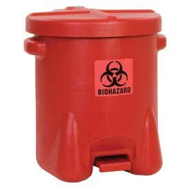 Eagle Biohazardous Polyethylene Waste Cans