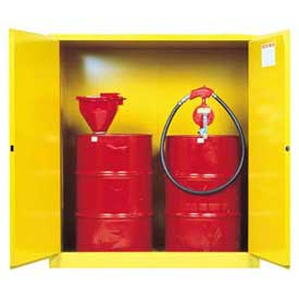 Justrite® Hazardous Waste And Flammable Drum Cabinets