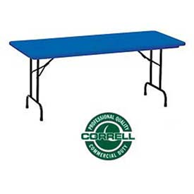 Correll -  Blow-Molded Commercial Duty Folding Tables