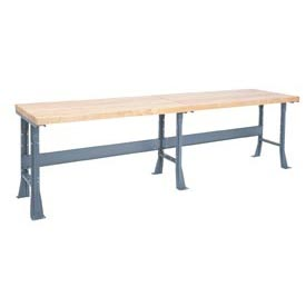 Extra Long Industrial Bench With 2 1/4