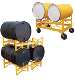 Vestil Stackable & Portable Drum Storage Racks