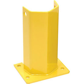 "Husky Rack & Wire I5712-P Pallet Rack Frame Guard 5""W x 4""D x 12""H - Yellow"