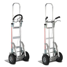 Aluminum Hand Trucks with Brakes