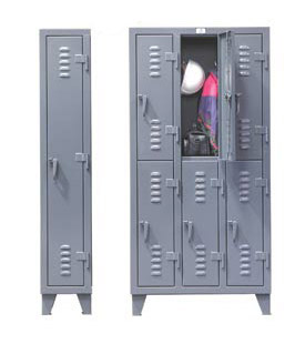 Strong Hold® All Welded Extra Heavy Duty Slim-Line Lockers