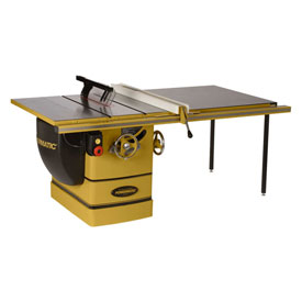 "Powermatic 1720305K Model PM3000 7.5HP 3-Phase 230/460V 14"" Tablesaw W/ 50"" Rip Accu-Fence Workbench by"