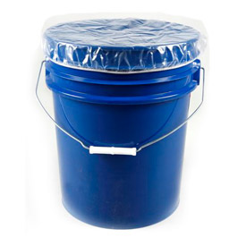Protective Lining Corp. Elastic Band 5 Gallon Pail Covers