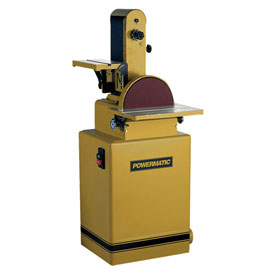 "Powermatic Model 31A 1-1/2HP 1-Phase 115/230V 6"" x 48"" Belt / Disc Sander by"