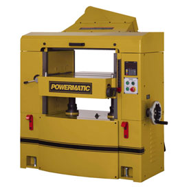 "Powermatic 1791303 Model WP2510 15HP 3-Phase 230/460V 25"" Planer W/ Helical Head by"