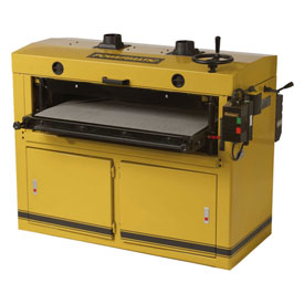"Powermatic 1791321 Model DDS-237 10HP 3-Phase 230V 37"" Dual Drum Sander by"