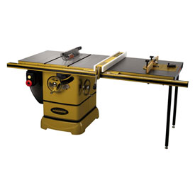 "Powermatic 1792001K Model PM2000 3HP 1-Phase 230V Tablesaw W/ 50"" Rip Accu-Fence ROUT-R-LIFT System"
