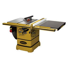 "Powermatic 1792002K Model PM2000 3HP 1-Phase 230V Tablesaw W/ 30"" Rip Accu-Fence Workbench"