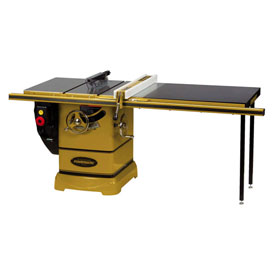 "Powermatic 1792005K Model PM2000 5HP 3-Phase 230/460V Tablesaw W/ 50"" Rip Accu-Fence Workbench"