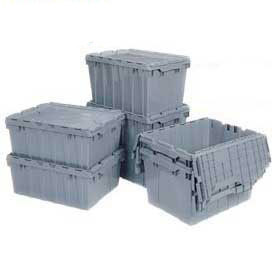 Akro-Mils Attached Lid Distribution Containers