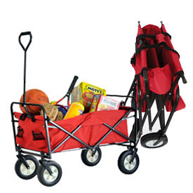 Sandusky® Light Duty Folding Wagon Cart