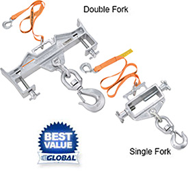Vestil Forklift Hoisting Hook Attachments