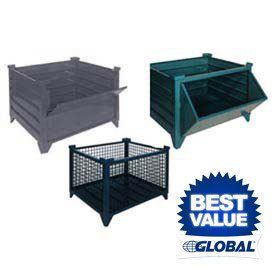 Topper All Welded Stackable Steel Bulk Containers
