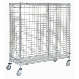 Nexel® Wire Security Storage Truck 36 x 14 x 69 1200 Lb. Capacity