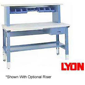 "72""W X 30""D Plastic Laminate Premium Grade Square Edge Workbench"