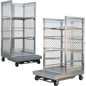 New Age Aluminum Order Picking Platforms