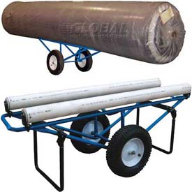 Vestil Portable Carpet Roll Dolly Carts