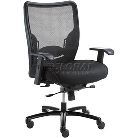 Interion® Big & Tall Mesh Chair