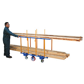 Vestil Horizontal Lumber Transport Cart