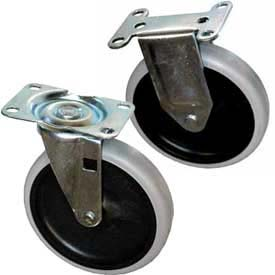Replacement Casters for Rubbermaid® Plastic Service Carts