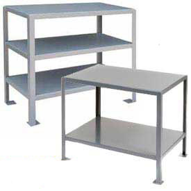 2 Shelf Machine Table 48 X 30