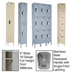 Hallowell Secure Quiet Steel Lockers - Assembled