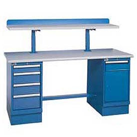 Extra Deep Pedestal Workbenches