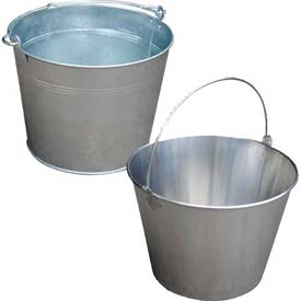 Vestil Galvanized & Stainless Steel Buckets