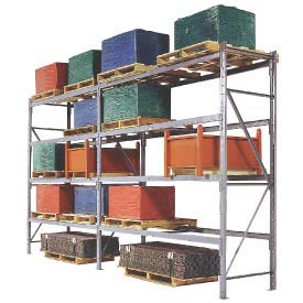 MECO Structural Pallet Rack Upright Frames