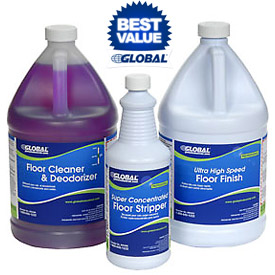 Global® Floor Cleaners