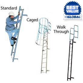 Steel Fixed Access Ladders