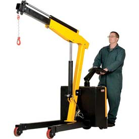 Vestil Electric Powered Lift & Drive Floor Crane
