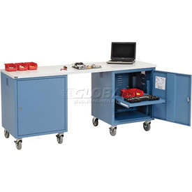 Mobile Pedestal Computer Workbenches