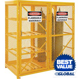 Global™ Gas Cylinder Storage Cabinets