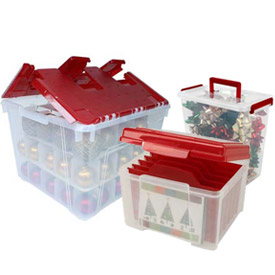 Holiday Decoration Storage Totes