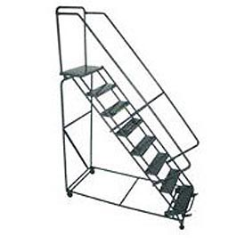 "CAL-OSHA KIT 10-12 Step Ladders - 24""W Steps"