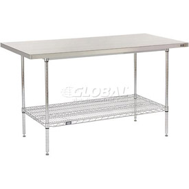 Stainless Steel Top Wire Work Tables
