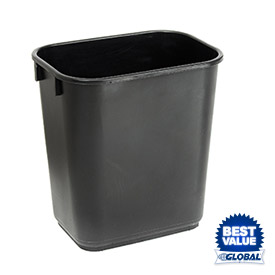 Global™ Plastic Wastebaskets