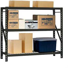 Edsal - Heavy Duty Welded Storage Rack 77W x 24D x 72H